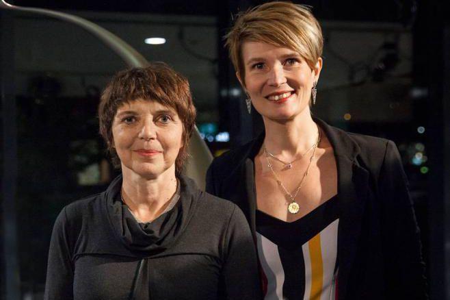 Dominique Laquerre, directrice duCentre d'art Jacques&Michel Auger, et... (Photo Martin Morissette,fournie par leCentre d'art Jacques&Michel Auger)