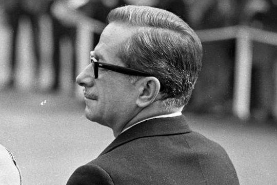 L'ex-premier ministre du QuébecDaniel Johnson, en 1967.... (Photo Archives La Presse)