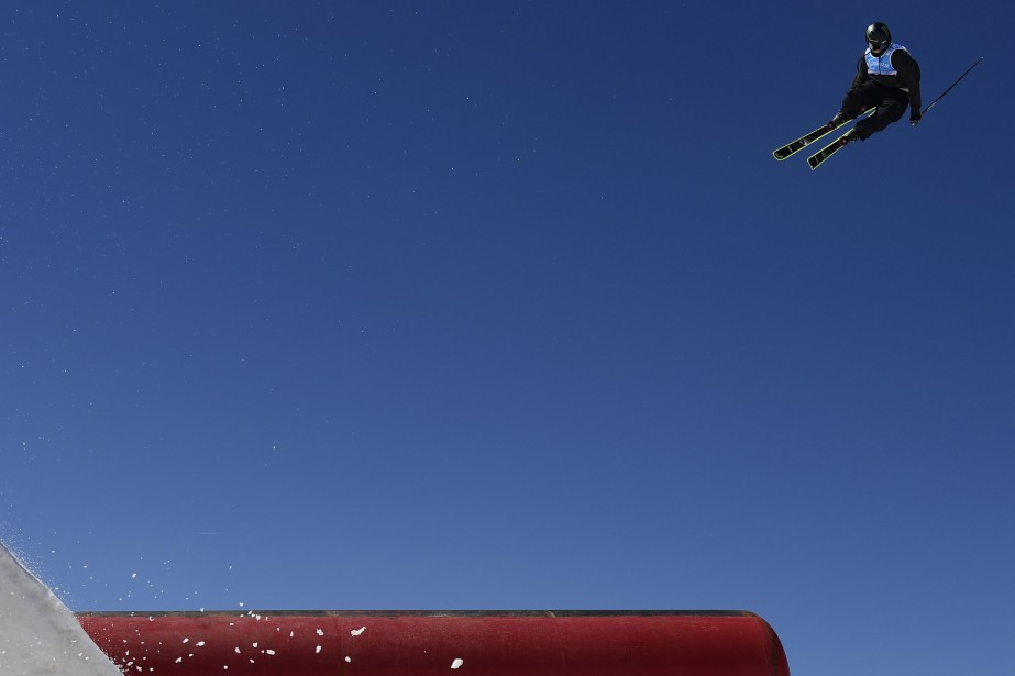 Evan Mceachran en action.... (Photo JAVIER SORIANO, AFP)