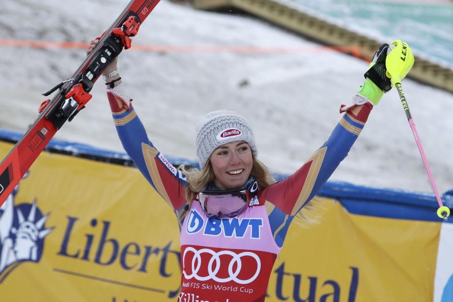 Mikaela Shiffrin.... (photo Charles Krupa, AP)