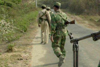 Des soldats bangladais.... (Photo Jewel Samad, archives Agence France-Presse)