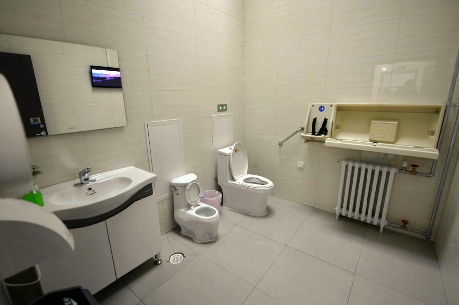 Cette «révolution des toilettes» avait été décrétée en... (Photo archives Agence France-Presse)