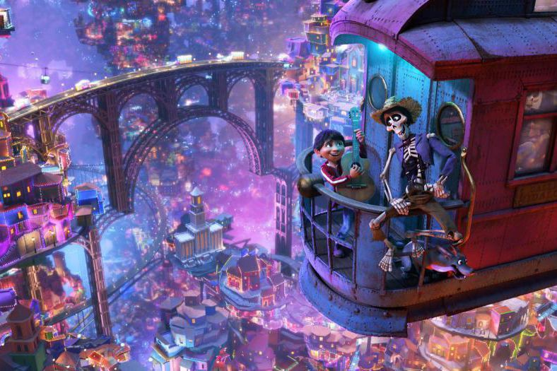 Lors de son premier week-end, Coco a enregistré... (Photo fournie par Pixar)