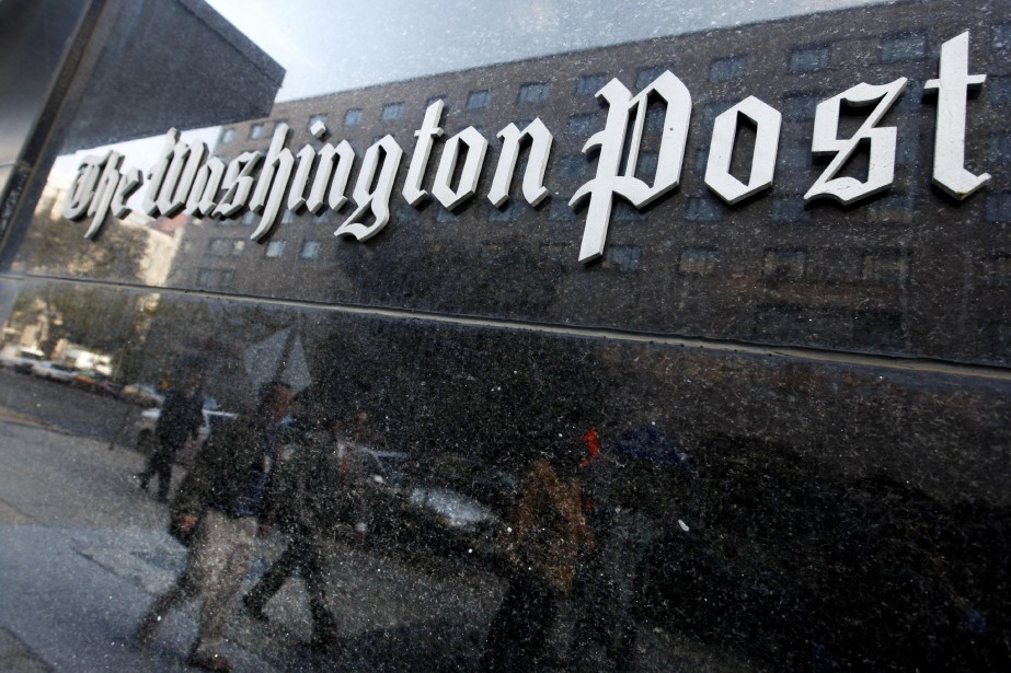 Le Washington Post a révélé lundi avoir déjoué les... (ARCHIVES AP)