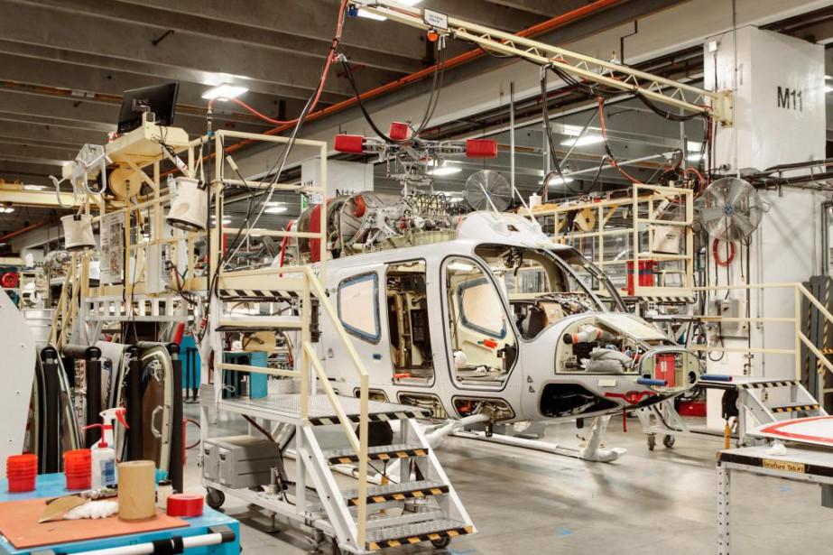 Le secteur de l'aéronautique, qui pèse lourd dans... (Photo Hugo-Sébastien Aubert, Archives La Presse)
