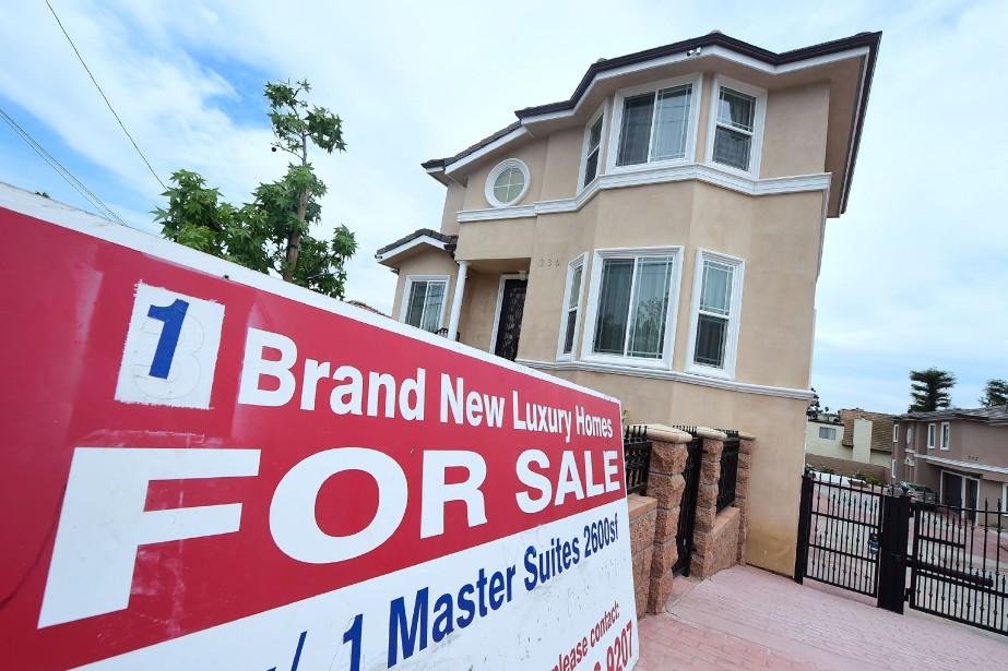 Le prix moyen des logements à la vente... (AFP)