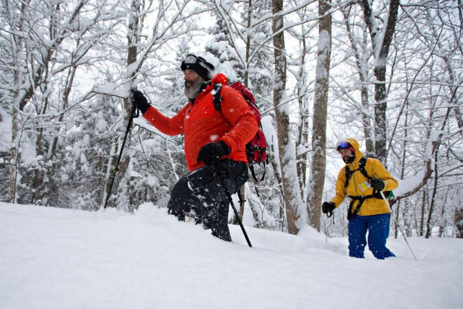 Le touring alpin permet à ses adeptes de... (Photo Olivier Jean, Archives La Presse)