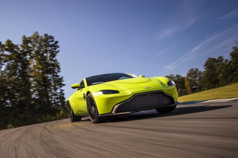 La nouvelle Aston Martin Vantage diffère de la DB11 en... | 2017-11-28 00:00:00.000