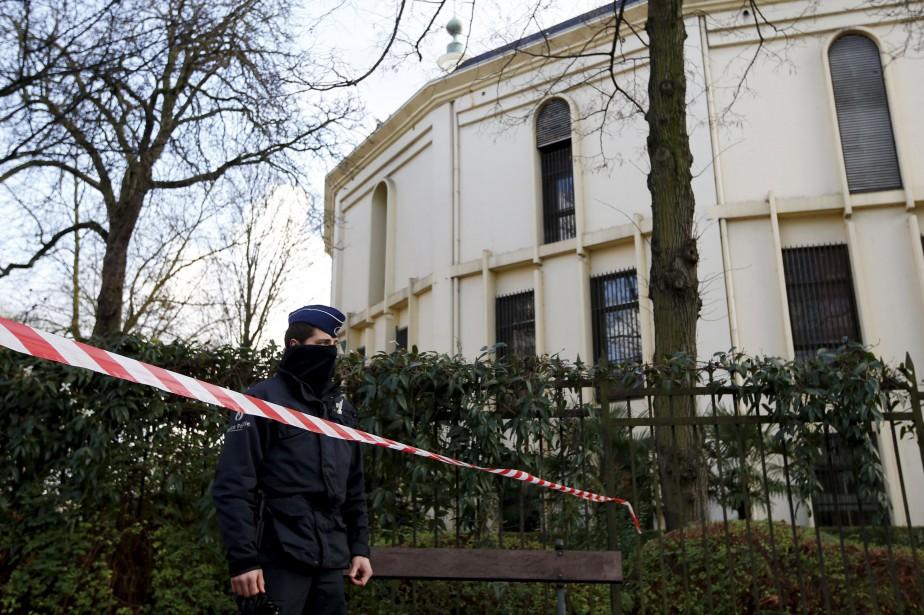La Grande mosquée de Bruxelles, située dans le... (ARCHIVES REUTERS)