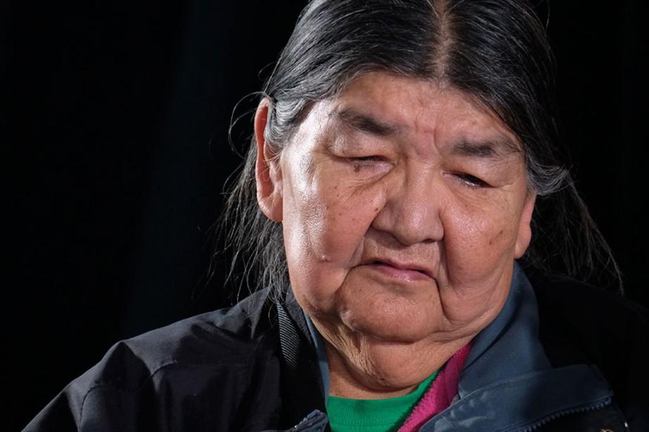 Une mère de Pakuashipi, Christine Lalo, a rapporté... (PHOTO Julien Choquette, collaboration spéciale)