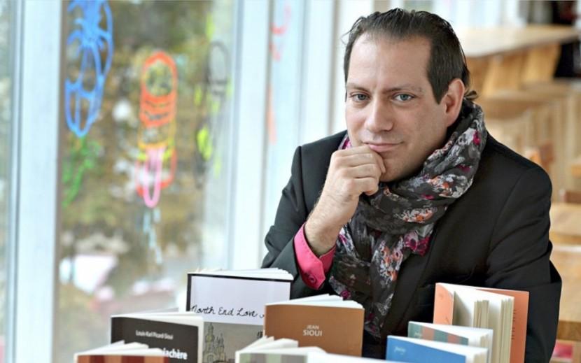 Louis-Karl Picard-Sioui, écrivain et directeur du Salon du... (Image fournie par Mémoire d'encrier)