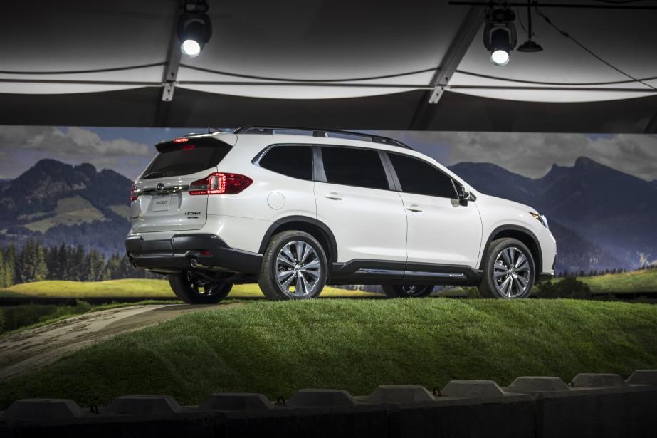 Ascent veut dire ascension et c'est ce que Subaru a fait en présentant au Salon...
