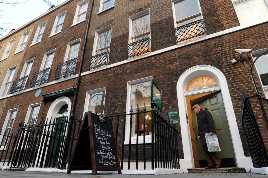 Le musée Dickens de Londres... (PHOTO ARCHIVES AFP)