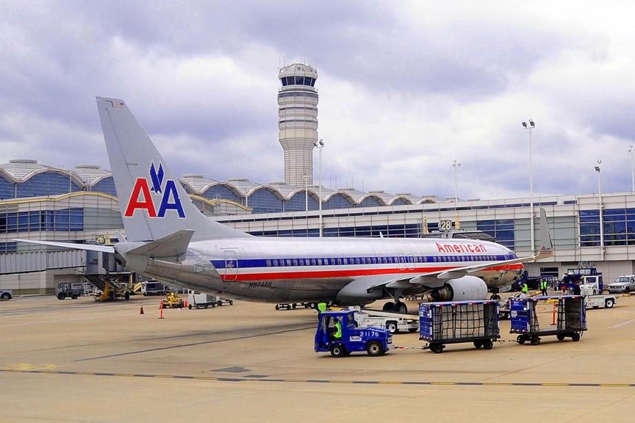 Plus de 15 000 vols d'American Airlines programmés... (PHOTO KAREN BLEIER, ARCHIVES AFP)