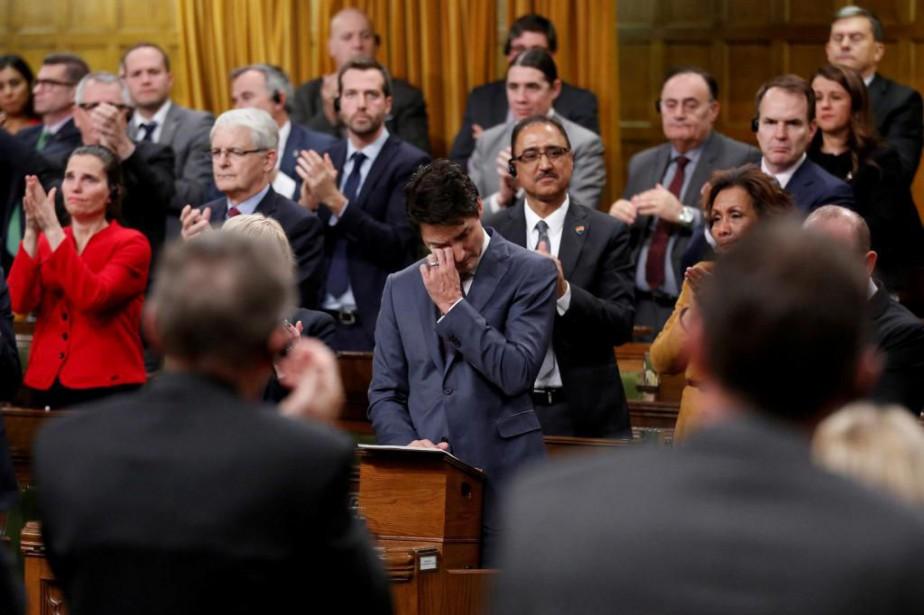 Enfant, Justin Trudeau a côtoyé des amis de... (Photo Chris Wattie, Reuters)