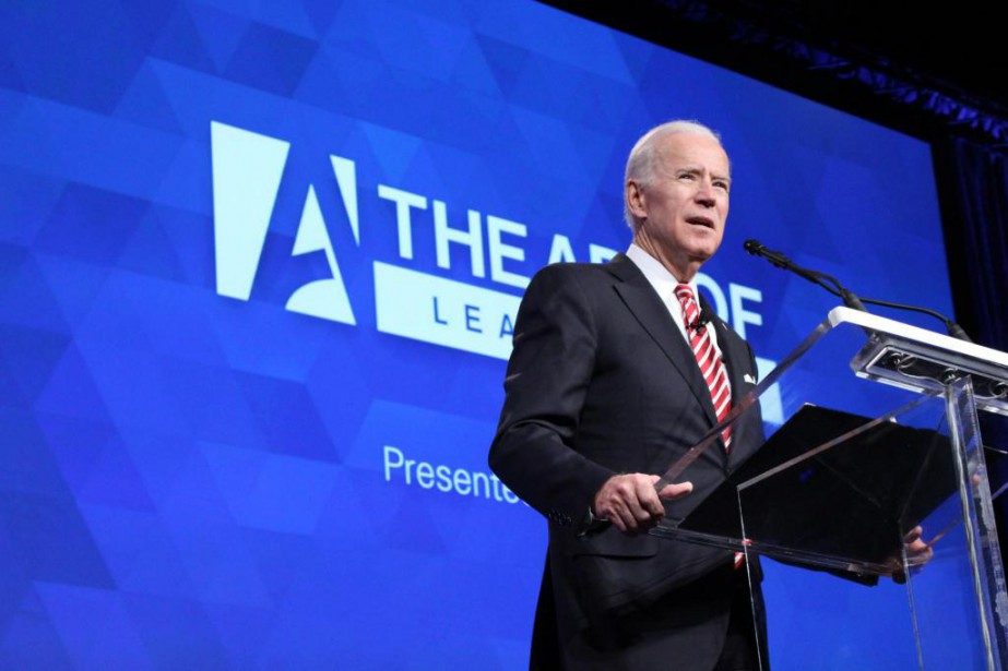 Joe Biden a prononcé un discours hier au... (Photo fournie par The Art of Leadership)