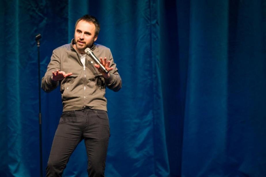 À 40 ans, l'humoriste Louis-José Houde fait plus... (PHOTO OLIVIER PONTBRIAND, LA PRESSE)