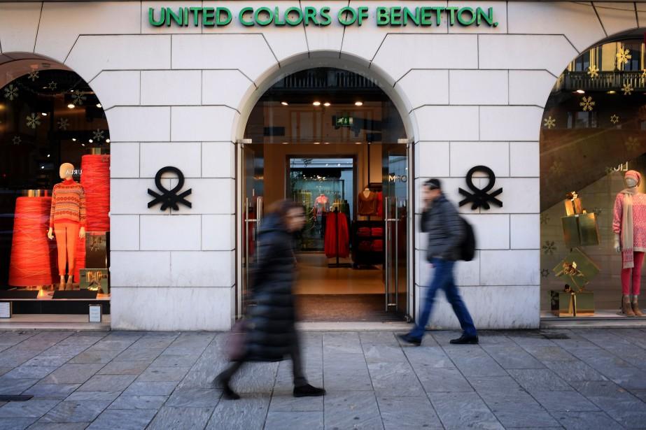 Le succès des «United Colors of Benetton» est... (AFP)
