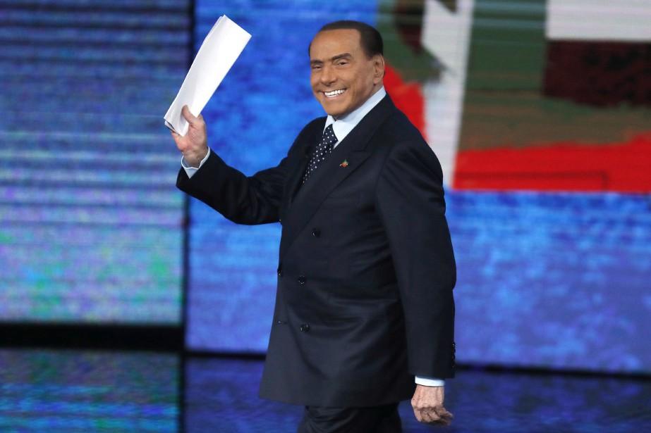 Silvio Berlusconi... (Photo Antonio Calanni, archives Associated Press)