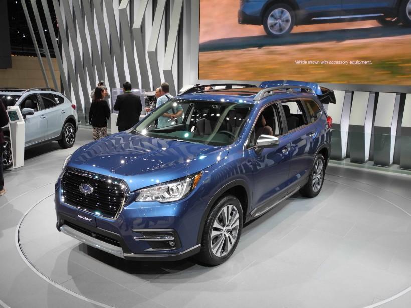 Le nouveau VUS à trois rangées de siège Subaru Ascent 2019 remplace l'impopulaire Tribeca. Fidèle à ses manières de faire, Subaru a mise sur la fonctionnalité et la fiabilité, pas sur le style. (La Presse)