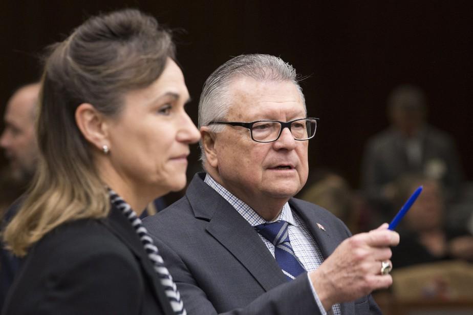 Le ministre fédéral de la Sécurité publique, Ralph... (PHOTO Adrian Wyld, LA PRESSE CANADIENNE)