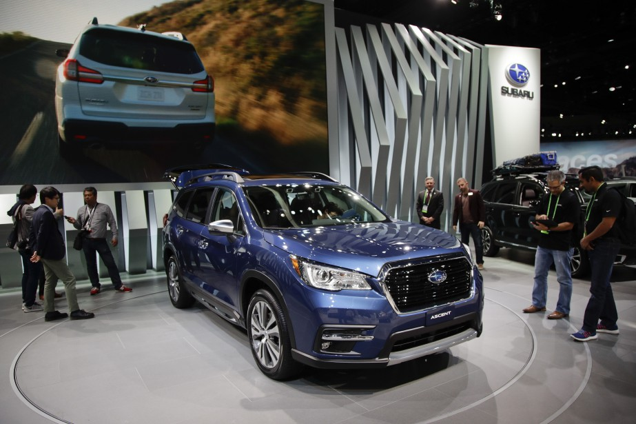 Le Subaru Ascent 2019. (AP)