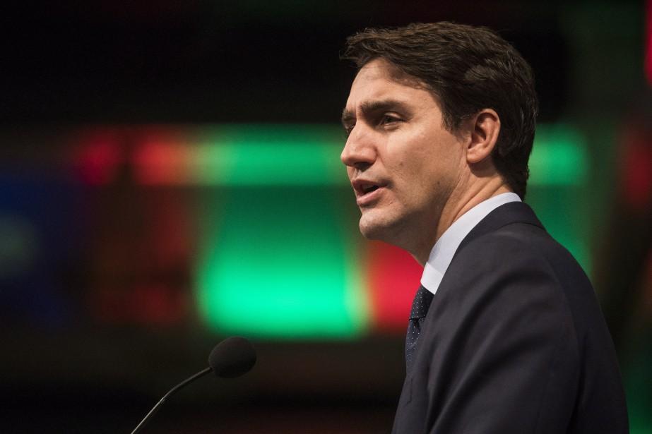 Le premier ministre du Canada, Justin Trudeau... (PHOTO Mark Blinch, LA PRESSE CANADIENNE)