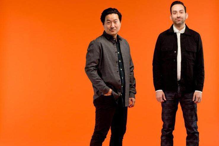 Ethan Song, de Frank & Oak, et Brandon Svarc, de... (Photo David Boily, La Presse)