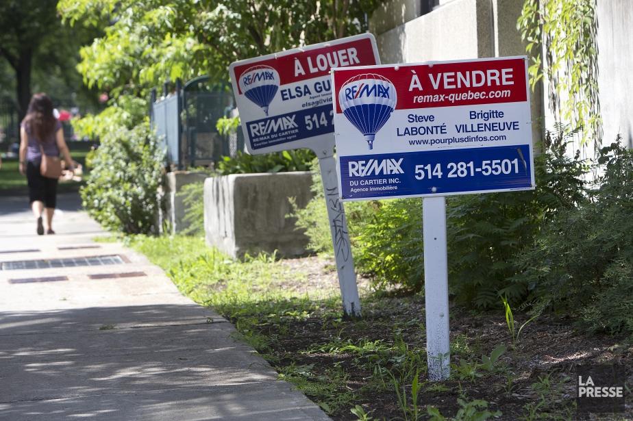 L'augmentation récente et rapide des prix des maisons... (PHOTO ROBERT SKINNER, LA PRESSE)