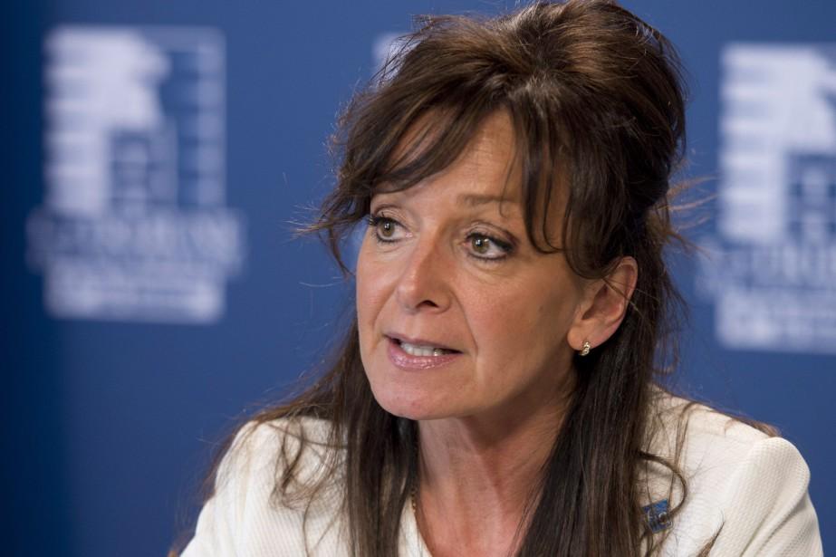La nouvelle présidente de la FIQ, Nancy Bédard... (PHOTO ARCHIVES LA PRESSE CANADIENNE)