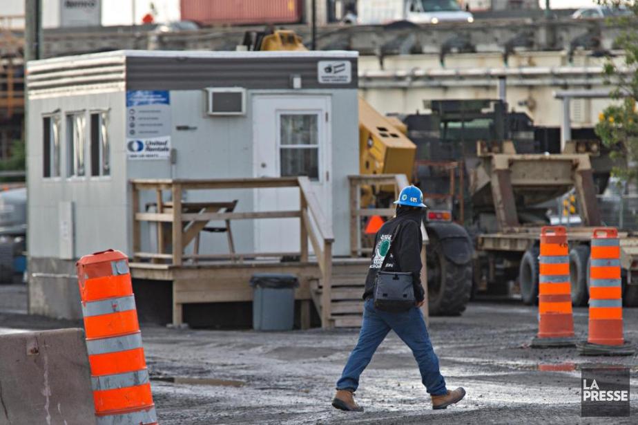 Dans le secteur de la construction, les congés... (Photo Patrick Sanfaçon, Archives La Presse)