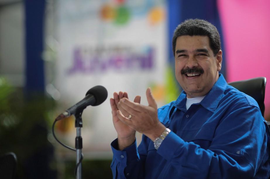 Le président Nicolas Maduro.... (Photo archives REUTERS)