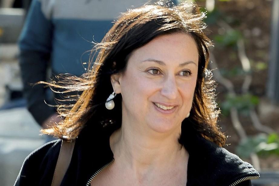 Daphne Caruana Galizia, 53 ans, a été tuée... (AP)