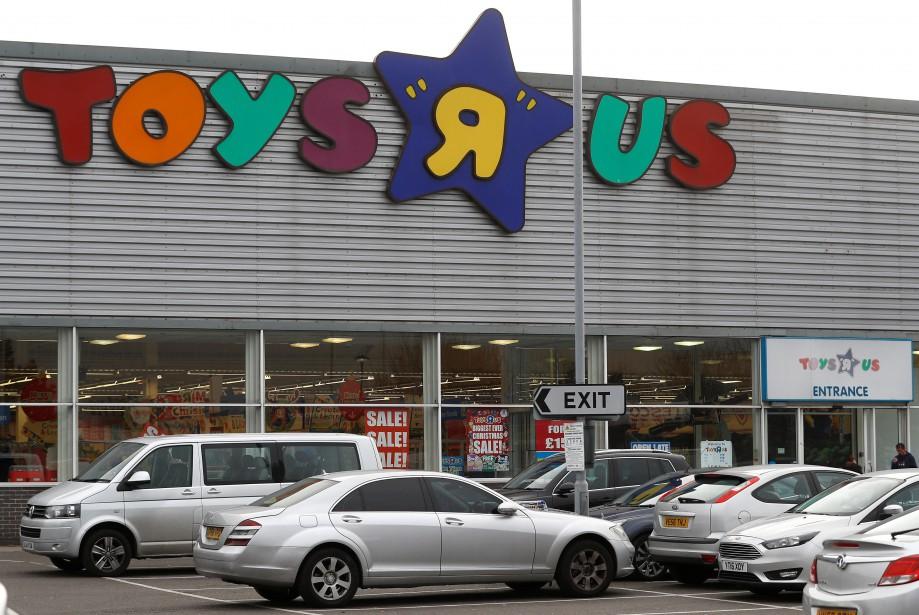 "Un magasin Toys ""R"" Us en banlieue de... (REUTERS)"
