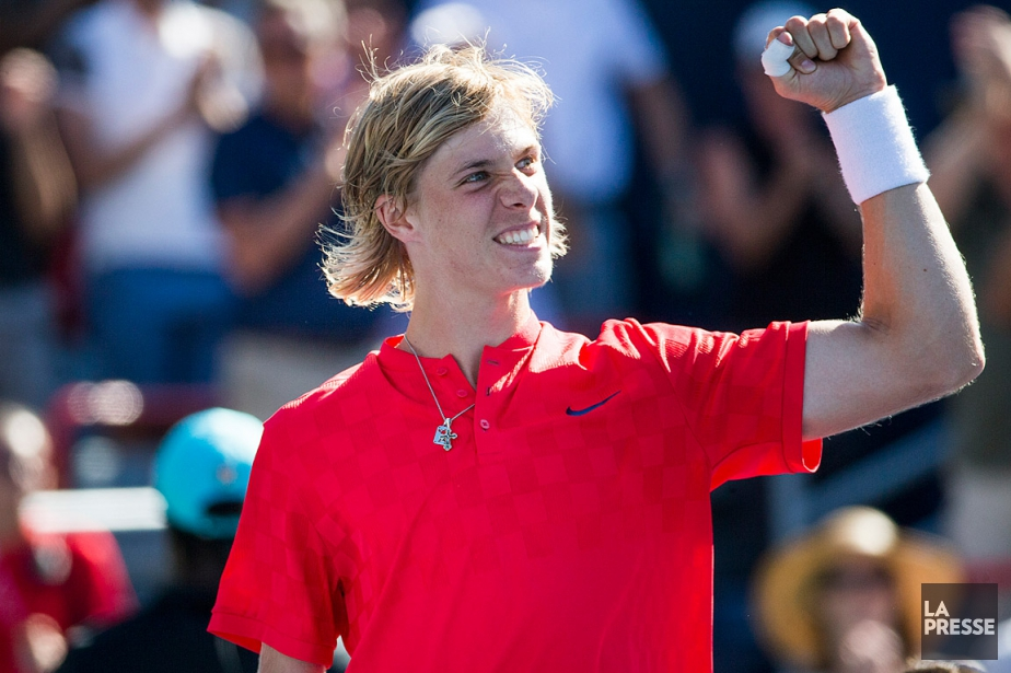 Denis Shapovalov a conquis de nombreux coeurs en devenant... (PHOTO OLIVIER PONTBRIAND, ARCHIVES LA PRESSE)