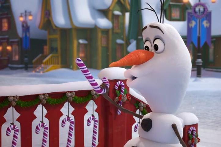 Une scène du court métrage Olaf's Frozen Adventure... (Photo fournie par Disney/Pixar)