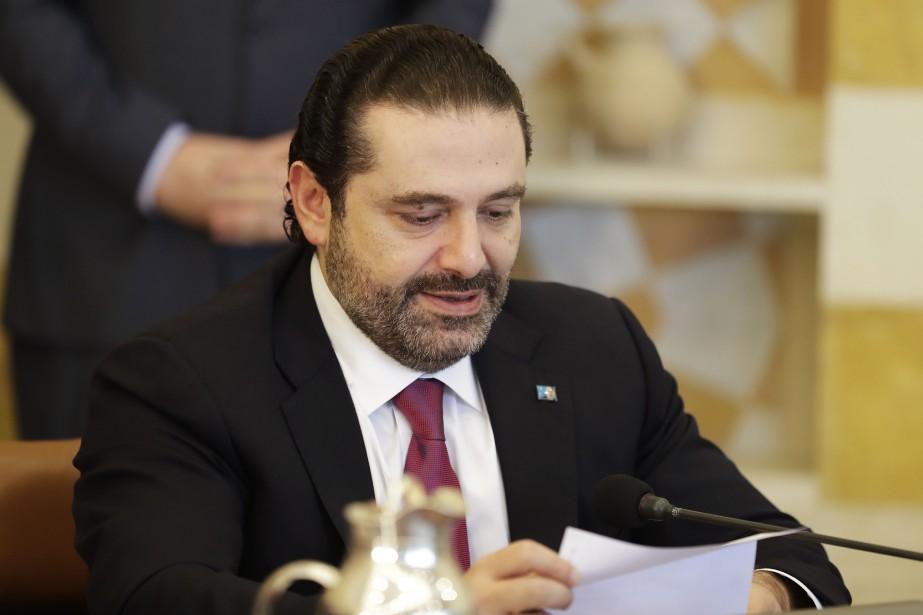 Le premier ministre libanais Saad Hariri... (AFP)