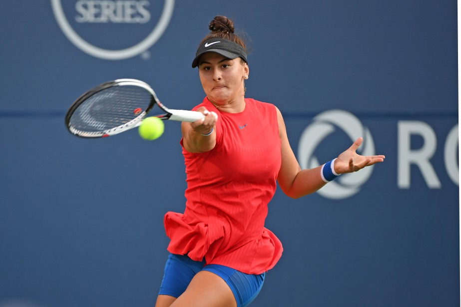 Bianca Andreescu... (Photo Gerry Angus, USA Today Sports)