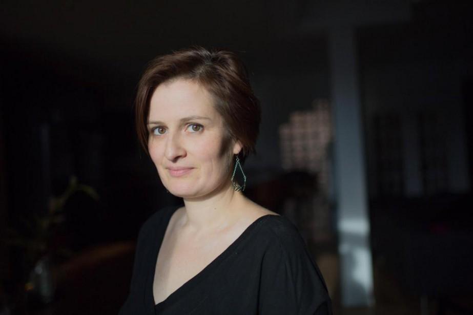 Anne-Marie Olivier, dramaturge, comédienne et directrice artistique du... (Photo Edouard Plante-Fréchette, La Presse)