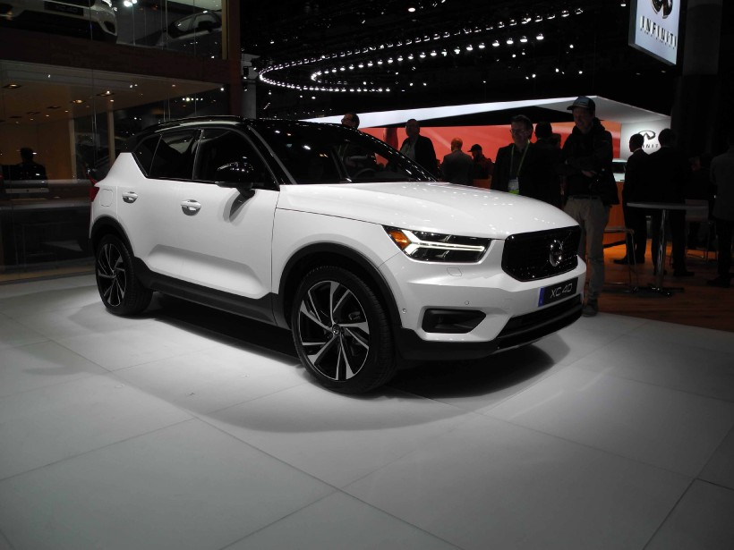 Le Volvo XC40. (Photo: Éric Lefrançois)