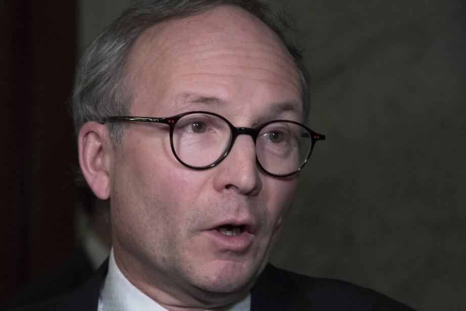 Le ministre de la Sécurité publique, Martin Coiteux.... (Photo Jacques Boissinot, PC)