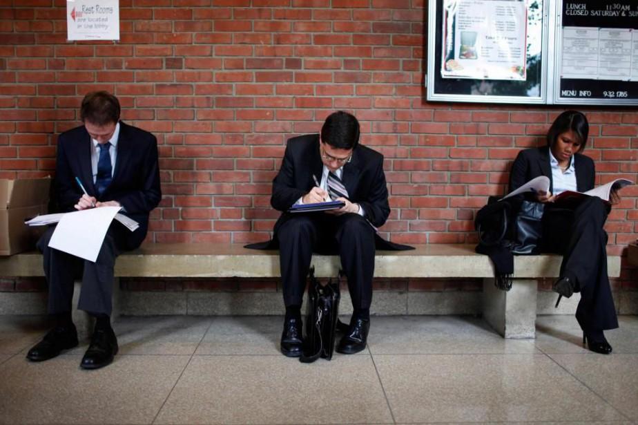 Le mois dernier, le secteur privé a créé... (PHOTOMike Segar, Archives Reuters)
