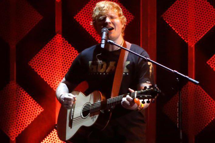 Les chansons d'Ed Sheeran ont été écoutées 6,3... (photoMario Anzuoni, reuters)