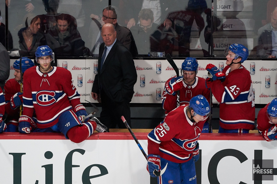 Le Canadien s'est incliné 4-3 face aux Blues... (Photo André Pichette, La Presse)