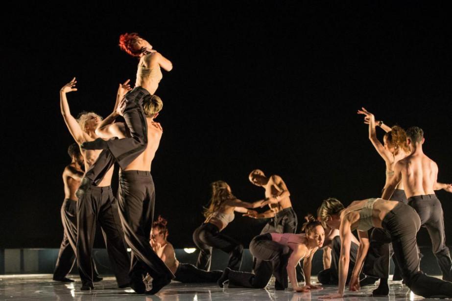 Le spectacle Dance Me,des Ballets Jazz de Montréal,... (Photo Edouard Plante-Fréchette, La Presse)