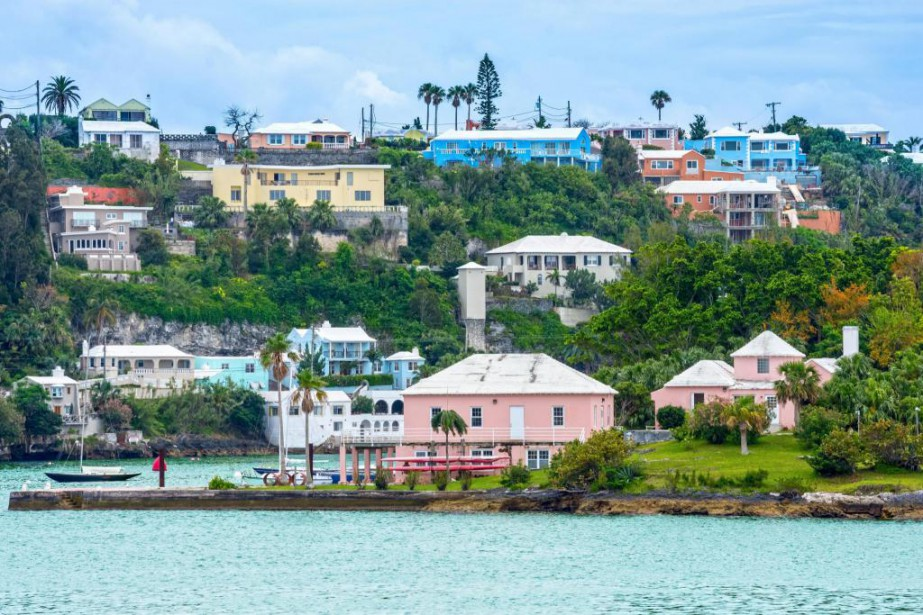 Hamilton, aux Bermudes... (Photo Thinkstock)