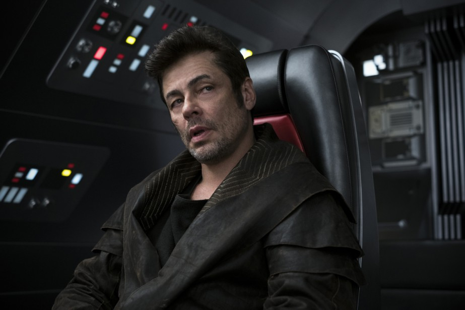 Benicio del Toro dans Star Wars: The Last... (Photo fournie par Lucasfilm)