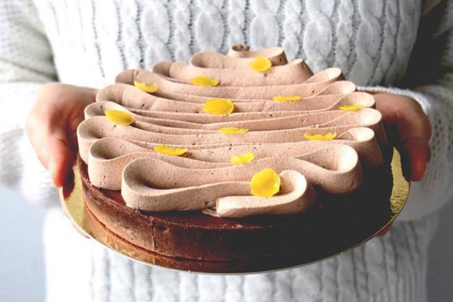 Les créations de Pâtisserie Maru sont un mélange... (Photo tirée de la page Facebook)