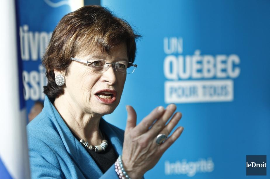 L'ex-ministre péquisteMarie Malavoy.... (Photo Patrick Woodbury, archives Le Droit)