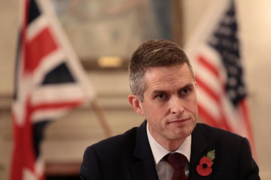 Pour le nouveau ministre de la Défense britannique,... (PHOTO AFP)